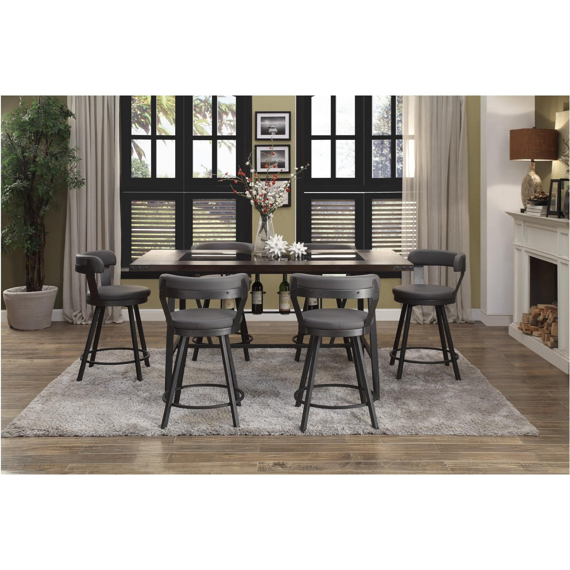 Appert 7 Piece Dining Set by Homelegance at Value City Furniture