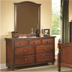 Homelegance Aris Dresser and Mirror
