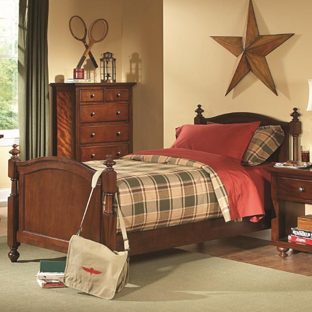 Homelegance Aris Twin Bed - Item Number: B4122T-1+2+3