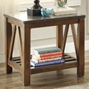 Homelegance Ashby Mission End Table - Item Number: 3552-04