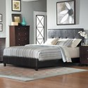 Homelegance Avelar Full Upholstered Bed - Item Number: 2100F-1+3
