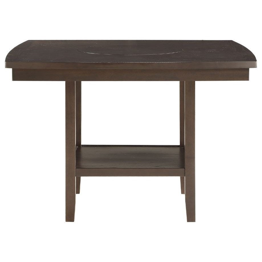 Counter Height Table with Lazy Susan