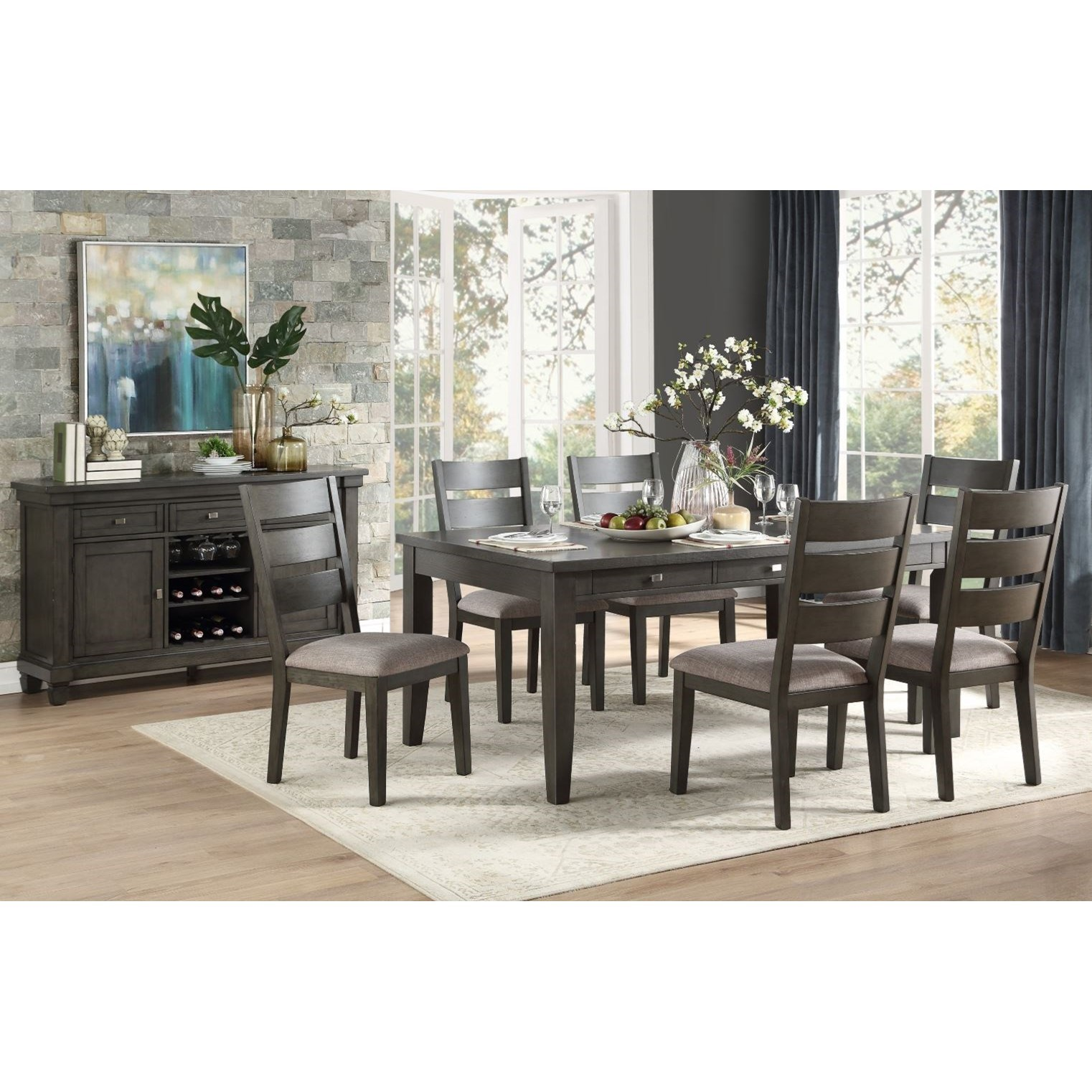 Baresford Formal Dining Room Group by Homelegance at Rife's Home Furniture