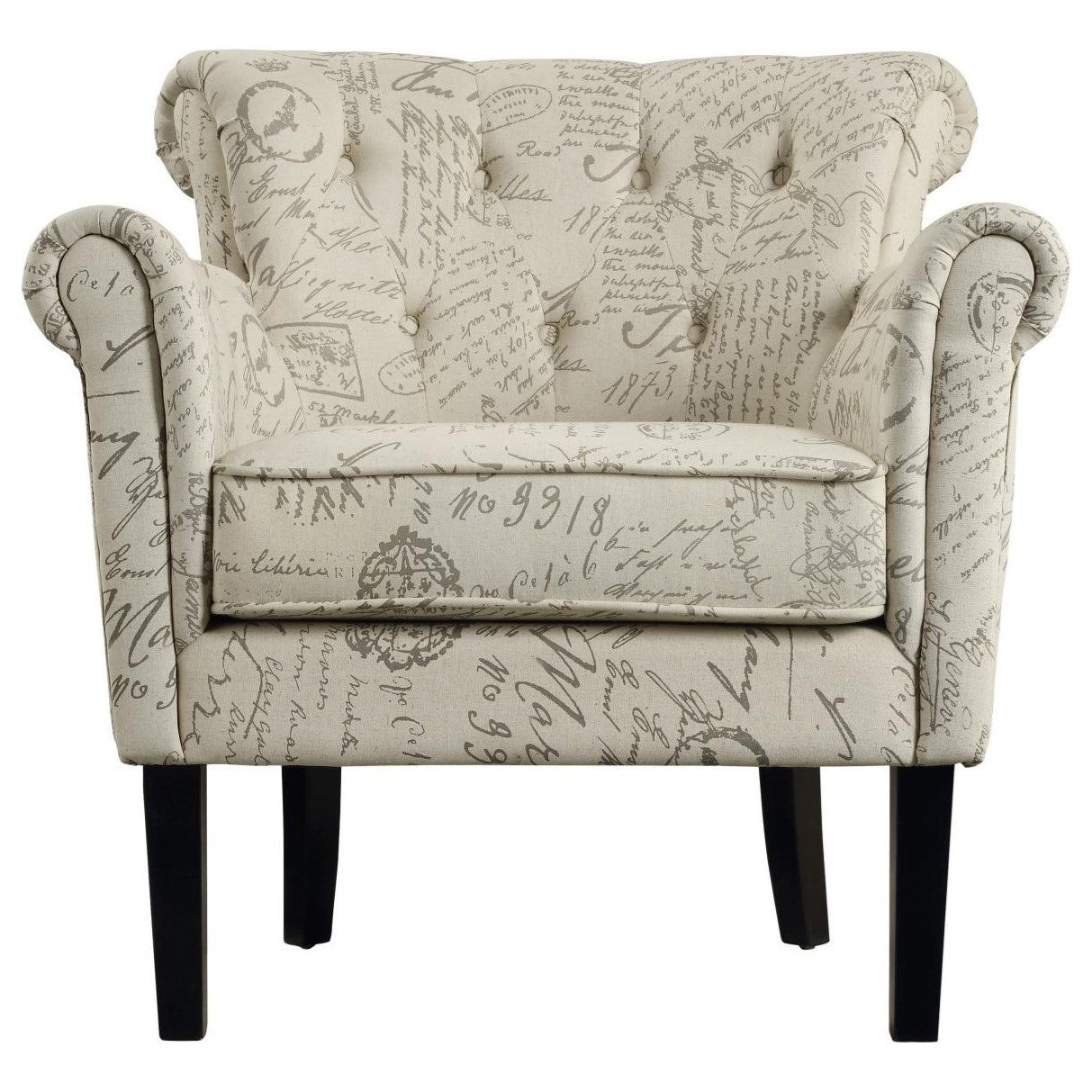 Barlowe Accent Chair by Homelegance at Value City Furniture