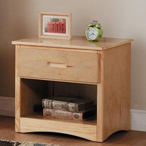 Homelegance Bartly Night Stand