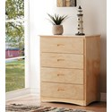 Homelegance Bartly Chest of Drawers - Item Number: B2043-9