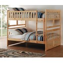 Homelegance Bartly Full/Full Bunk Bed - Item Number: B2043FF-1+2+SL