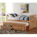 Homelegance Bartly Twin Captain's Bed - Item Number: B2043PR-1+2
