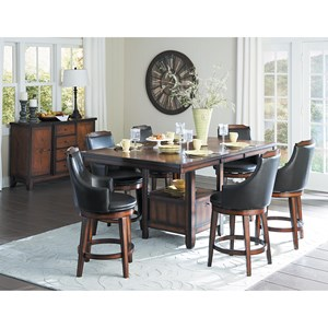 Homelegance Bayshore Counter Height Dining Room Group