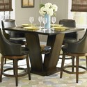 Homelegance Bayshore Counter Height Table - Item Number: 5447-36+36B