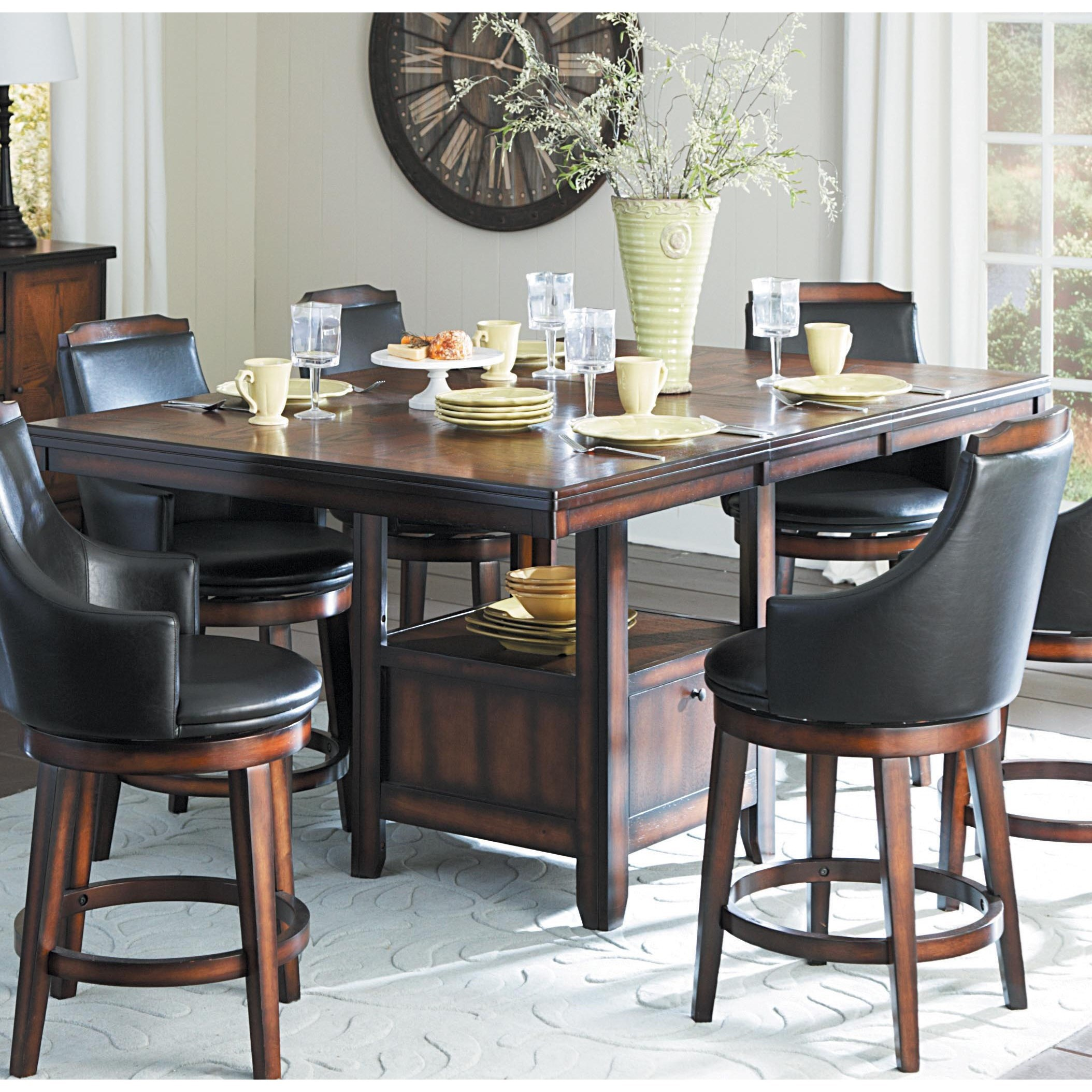 Homelegance Bayshore Transitional Counter Height Table And
