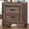 Homelegance Beechnut Modern 2-Drawer Nightstand - Item Number: 1904-4