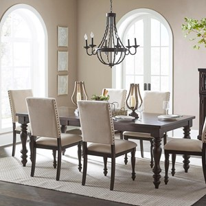 Homelegance Begonia Dining Table