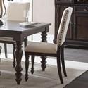 Homelegance Begonia Side Chair - Item Number: 1718GYS
