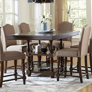 Homelegance Benwick Counter Height Table and Chair Set