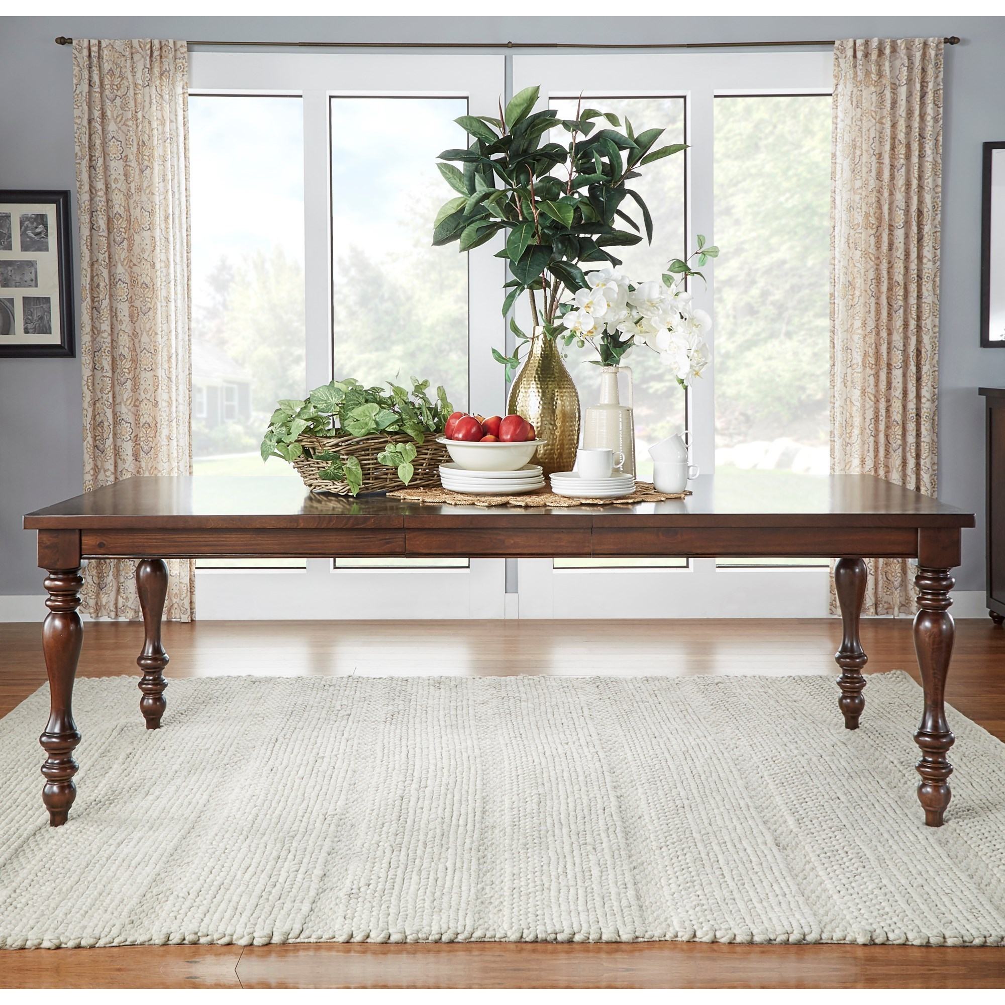 Homelegance Benwick Traditional Dining Table - Item Number: 5425-90