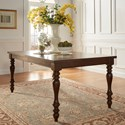 Homelegance Benwick Traditional Dining Table - Item Number: 5425AK-90