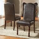 Homelegance Benwick Traditional Dining Side Chair - Item Number: 5425AKS-PU