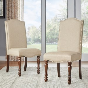 Homelegance Benwick Traditional Dining Side Chair