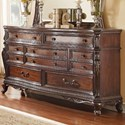 Homelegance Bonaventure - 1935 Traditional 7-Drawer Dresser - Item Number: 1935-5