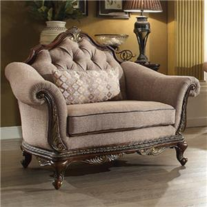 Homelegance Bonaventure Chair with Tufted Back
