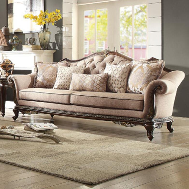 Homelegance Bonaventure Sofa with Tufted Back - Item Number: 19359-3