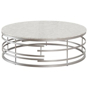 Large Round Cocktail Table