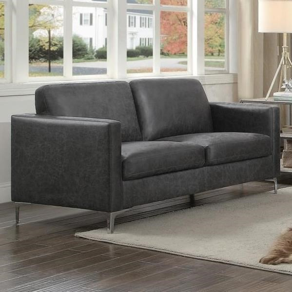 Breaux Love Seat by Homelegance at Beck's Furniture