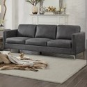Homelegance Breaux Sofa - Item Number: 8235GY-3