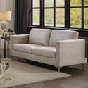 Homelegance Breaux Love Seat - Item Number: 8235SS-2