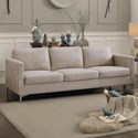 Homelegance Breaux Sofa - Item Number: 8235SS-3