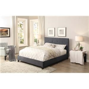 Homelegance Brice Upholstered Bed