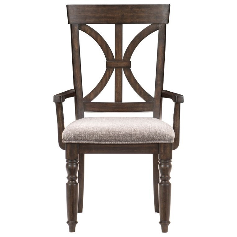 Cardano Arm Chair by Homelegance at Beck's Furniture