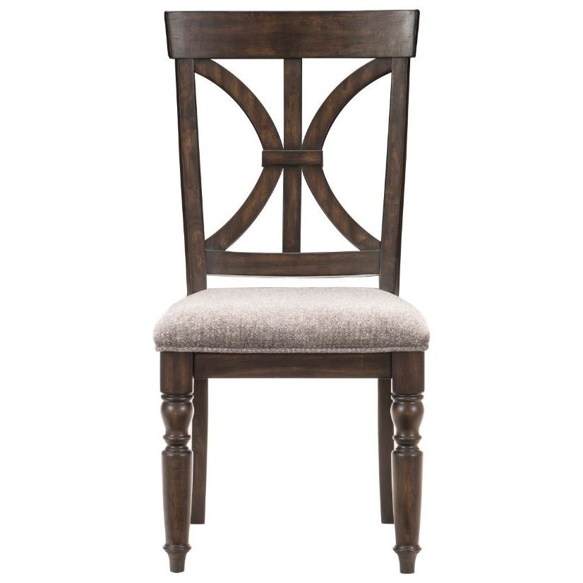 Cardano Side Chair by Homelegance at Beck's Furniture