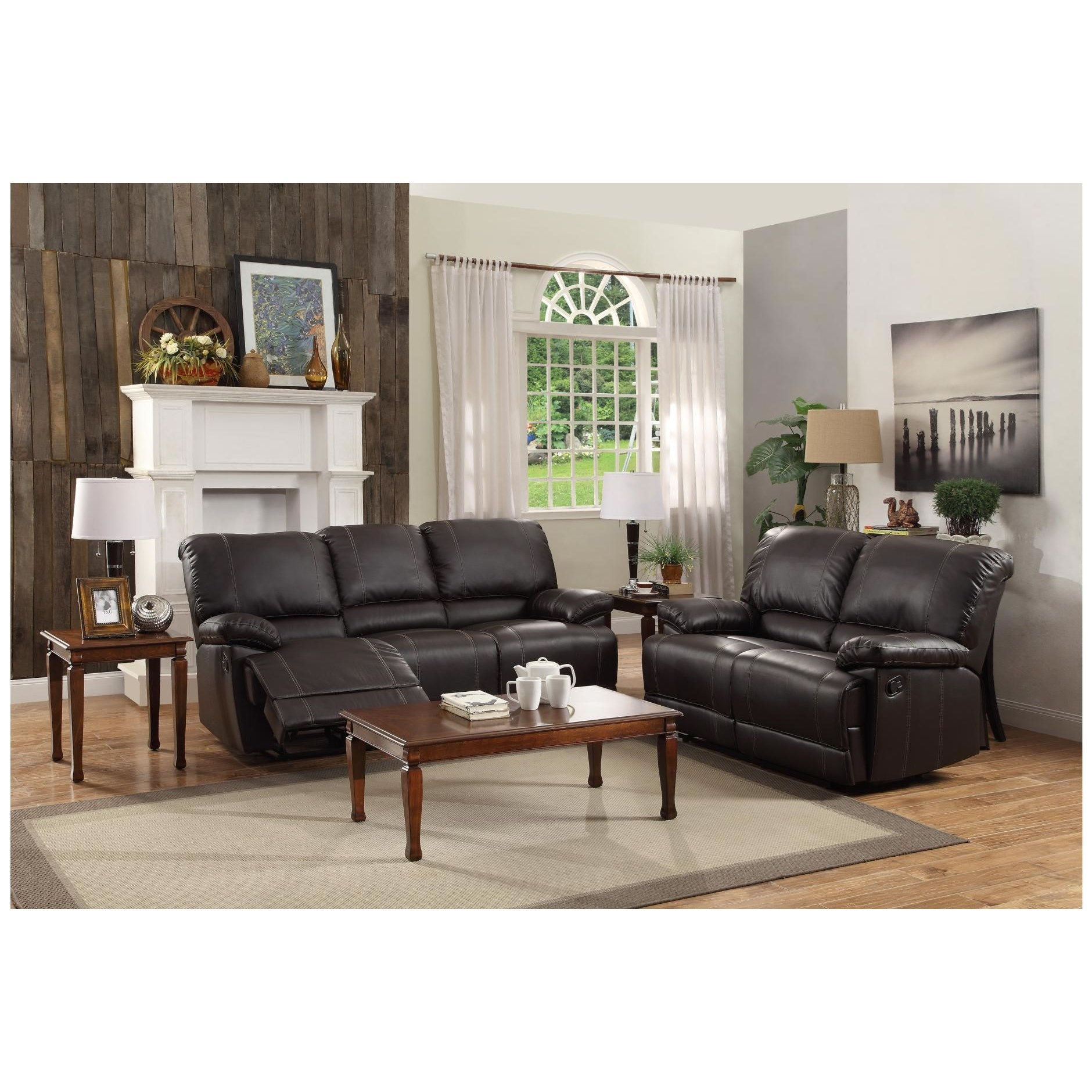 homelegance cassville reclining living room group  value