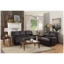 Homelegance Cassville Reclining Living Room Group - Item Number: 8403 Living Room Group 1