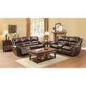 Homelegance Center Hill Reclining Living Room Group - Item Number: 9668 Living Room Group 2