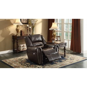 Homelegance Center Hill Gliding Power Recliner