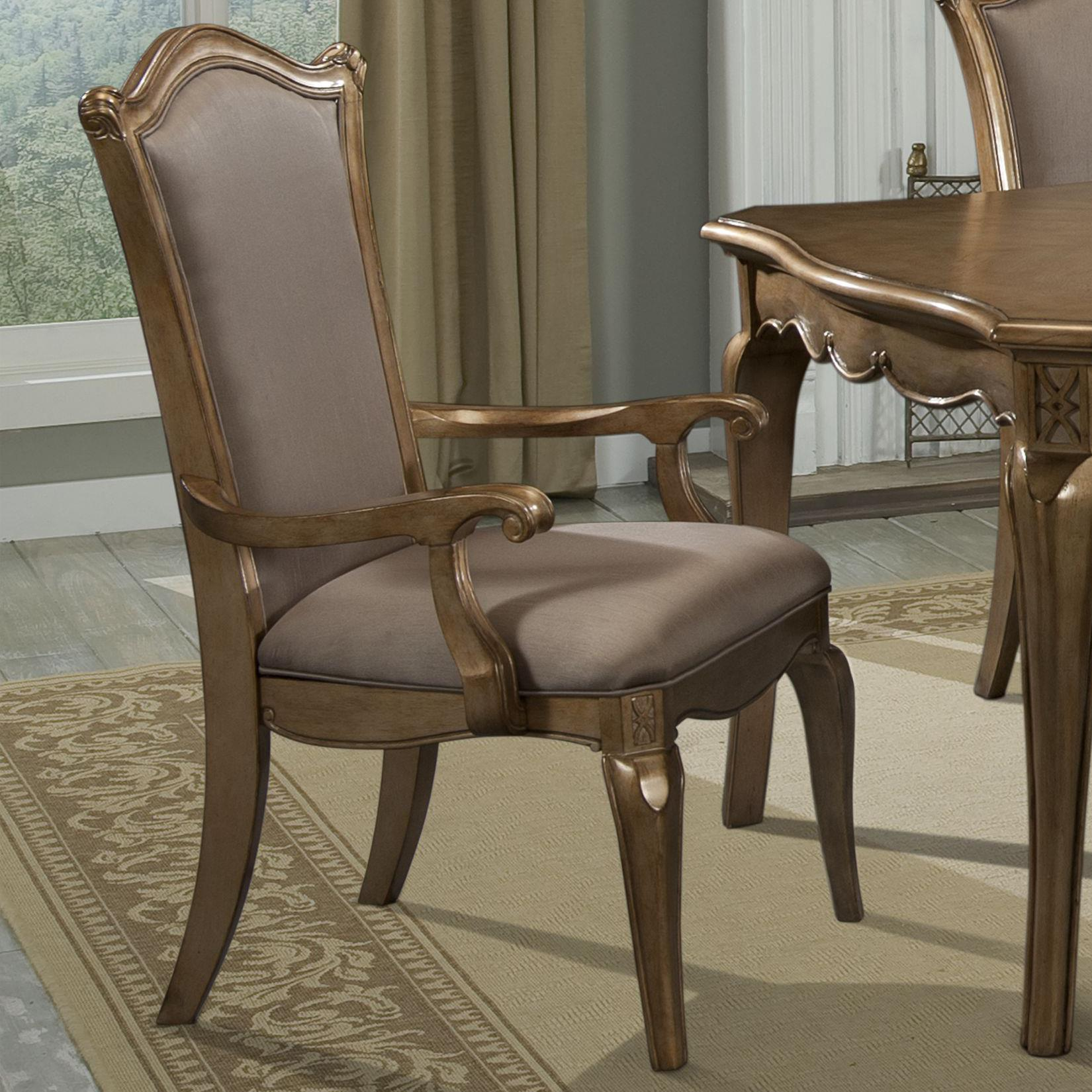 Homelegance Chambord Arm Chair - Item Number: 1828A