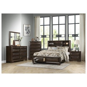 Homelegance Chesky Queen Bedroom Group