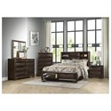 Homelegance Chesky Queen Bedroom Group - Item Number: 1753 Q Bedroom Group 1
