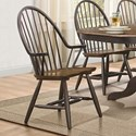 Homelegance Cline Dining Arm Chair - Item Number: 5530A