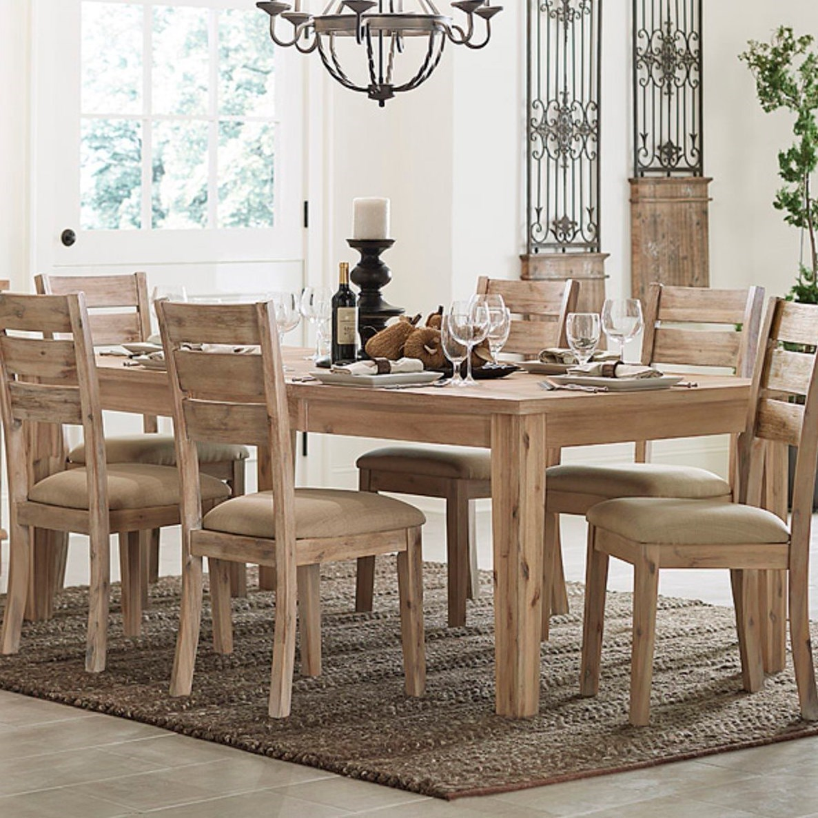 Homelegance Colmar Contemporary Table - Item Number: 5411RF-82