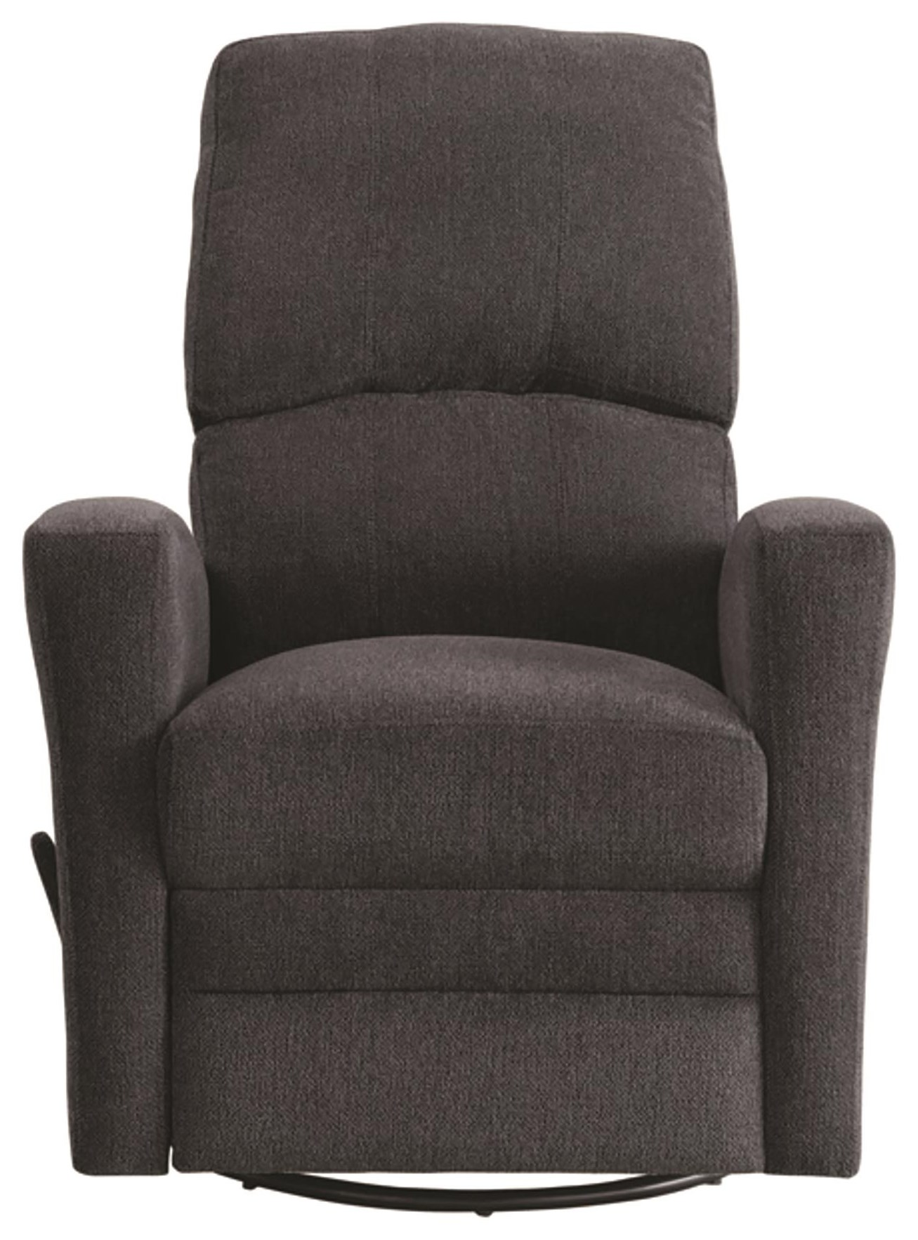 Colrich Swivel Glider Recliner by Homelegance at Darvin Furniture
