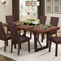 Homelegance Compson Dining Table - Item Number: 5431-77+77B