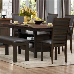 Homelegance Corliss Dining Table with Pedestal