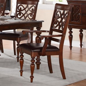 Homelegance Creswell Dining Arm Chair