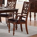 Homelegance Creswell Dining Arm Chair - Item Number: 5056A