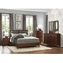 Homelegance Cullen Modern Queen Bedroom Group - Item Number: 1855 Bedroom Group 1