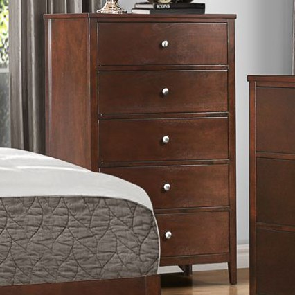 Homelegance Cullen Modern 5-Drawer Chest of Drawers - Item Number: 1855-9